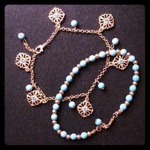 Jewelry - Pretty Bracelet /Anklet Set